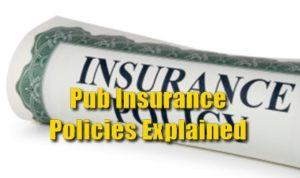 Pub Insurance Policies Explained