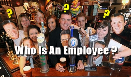 pubs, employment, law, employees, advice, definition of an employee,