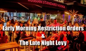 How To Run A Pub - Early Morning Restriction Orders & The Late Night Levy