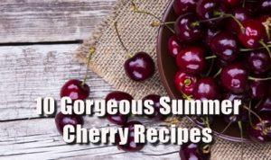 How To Run A Pub- 10 Cherry Recipes
