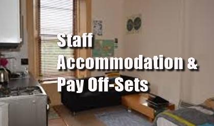pub, staff accommodation, pay, off-set, NMW, NLW, minimum wage,