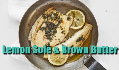 pub, food, fish, menu idea, lemon sole, winter