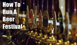 How To Run A Pub - Beer Festivals