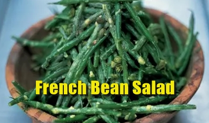 pub food, menu idea, british recipe, seasonal, summer,vegetables, salad, french beans,